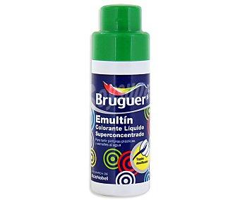 BRUGUER Colorante Líquido Superconcentrado Emultin, Color Verde Cactus 0,5 Litros