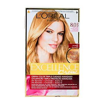 L'Oréal Tinte coloracion permanente Nº 8.03 rubio divino excellence u