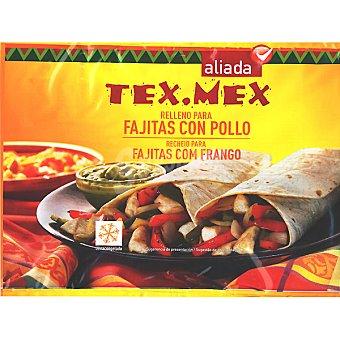 ALIADA Tex Mex Relleno para fajitas con pollo Bolsa 400 g