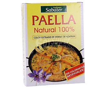 SABATER Paella natural 100% 3 unidades de 2 g
