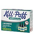Insecticida elèctrico , 3 recambios 3 x 33 ml Kill-Paff