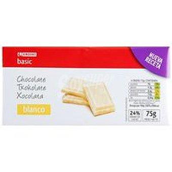 Eroski Basic Chocolate blanco Tableta 75 g