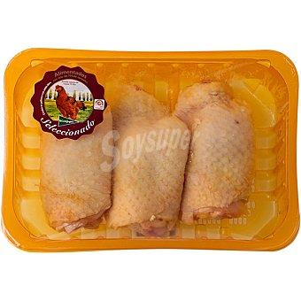 El Corte Inglés Contramuslos de pollo de corral peso aproximado Bandeja 600 g