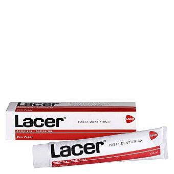 Lacer Kit cepillo de dientes y pasta dentífrica para viajes 125 ml