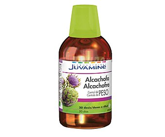 Juvamine Alcachofa, control de peso, 20 dosis a diluir 500 Mililitros