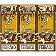 Batido de chocolate pack 3 envases 200 ml Feiraco