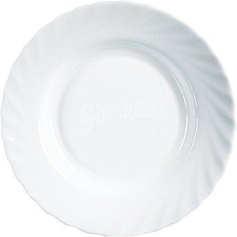 LUMINARC  Trianon Plato Llano en color blanco 22,5 cm 1 Unidad