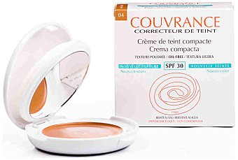 COUVRANCE Maquillaje compacto miel O/F Pack 9,5 g