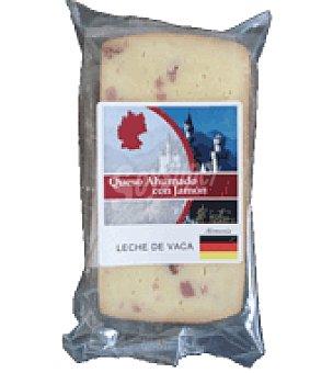 Abrilisto Queso alemán con taquitos de jamón 200.0 g.