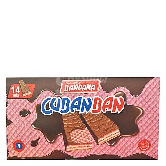 Bandama Cubanban ambrosías cubiertas de chocolate Estuche 280 g