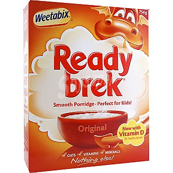 WEETABIX Ready Break Original preparado para gachas de avena especial para niños paquete 250 g Paquete 250 g