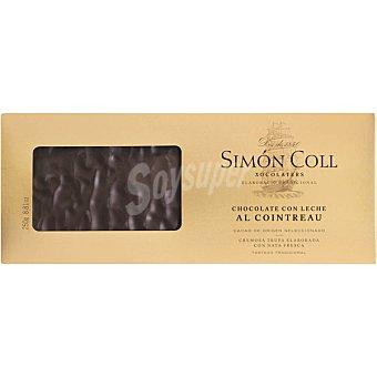 Simón Coll Turrón de chocolate con leche al Cointreu Tableta 250 g