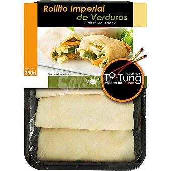 Ta Tung Rollito imperial de verdura Bandeja 280 g