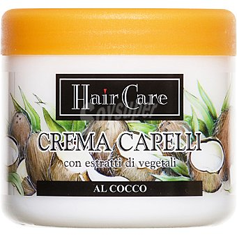 HAIR CARE mascarilla Coco con extractos de plantas  tarro 500 ml