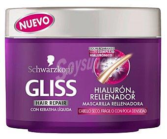 Gliss Mascarilla cabello liso asiático Tarro 200 ml