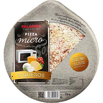 Palacios Especial micro pizza fresca cuatro quesos Envase 350 g