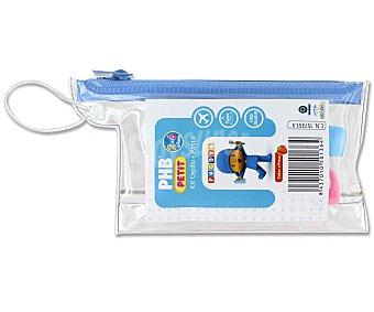 Phb Kit de viaje cepillo de dientes + dentífrico infantil 15 ml