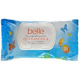 Belle Toallitas refrescantes Paquete 25 unid
