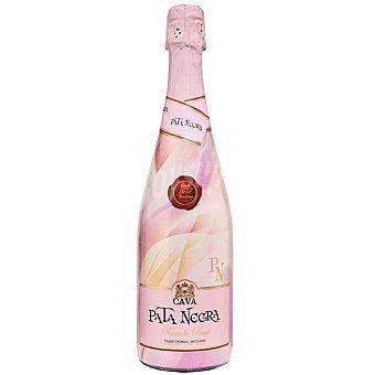Pata Negra Cava brut rosado método tradicional Botella 75 cl