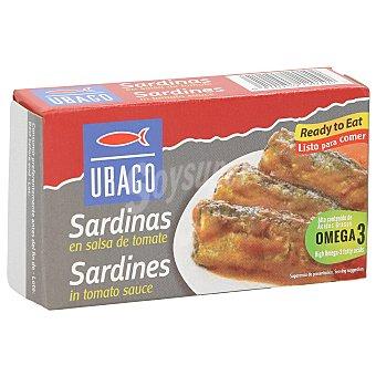 Ubago Sardinas en salsa de tomate Lata 80 gr