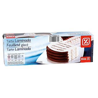 DIA Tarta congelada laminada nata y chocolate caja 515 gr 515 gr