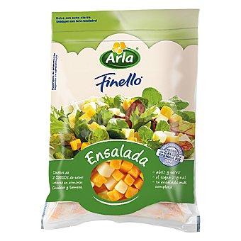 Arla Finello queso en dados para ensalada sin gluten Bolsa 150 g