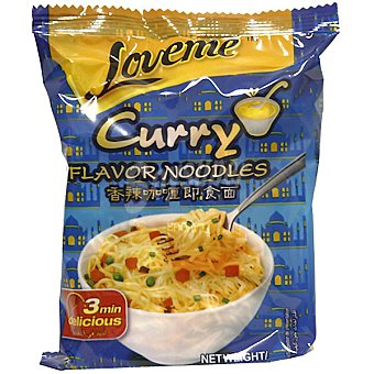 LOVEME Fideos instantáneos sabor a curry sobre 65 g Sobre 65 g