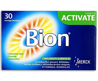 Bion Complemento alimenticio polivitamínico Activate 30 comprimidos