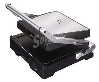 JATA GR1100 Grill tostador, sistema de apertura de 180 grados a voluntad, 27'5 x 24 cm,