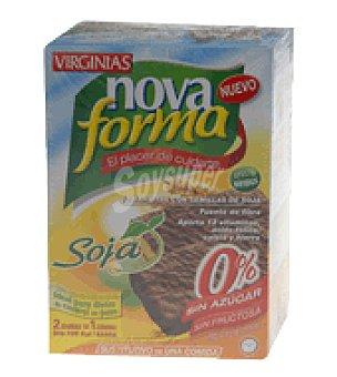 Novaforma Barritas con semillas de soja sin azúcar 1 paquete de 230 gr