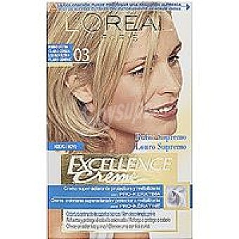 Excellence L'Oréal Paris Tinte rubio ceniza blonde S.03  Caja 1 unid