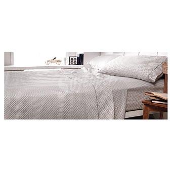 CASACTUAL Jazmín Juego de cama corbatero en color gris