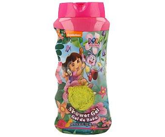 NICKELODEON Gel de baño más esponja Dora la exploradora 450 ml