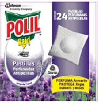 Raid Pastillas antipolillas perfume lavanda  24 unidades