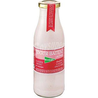 El Corte Inglés Yogur líquido batido con fresas envase 500 g