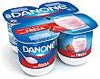 Yogur sabor fresa Pack 4 x 125 g Danone