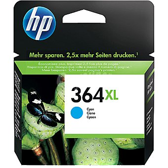HP Nº 364 XL cartucho color cian