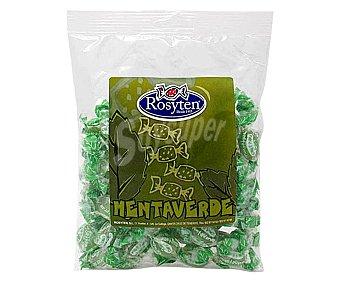 Rosyten Caramelos sabor amenta verde 250 g