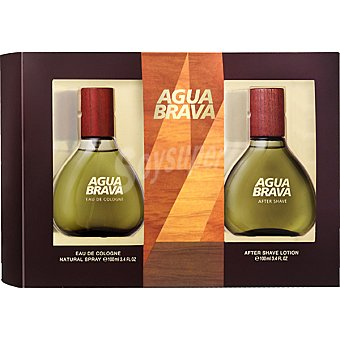 Agua Brava eau de cologne natural masculina + after shave loción frasco 100 ml Spray 100 ml