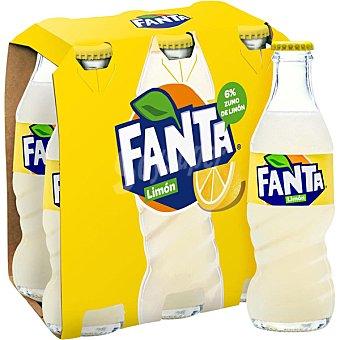 Fanta Refresco de limón Pack 6 botellines x 20 cl