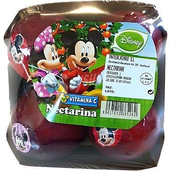 DISNEY2 Melocotón nectarina bandeja 595 g (contiene juguete sorpresa) Bandeja 595 g