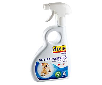 Dixie Solución insecticida en spray para perros Botella 500 ml