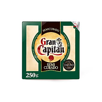 Gran Capitán Queso semicurado Cuña 250 g