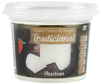 Auchan Queso fresco tradicional 250 Gramos