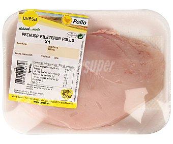 Bandeja de pechuga fileteada pollo 325 Gramos
