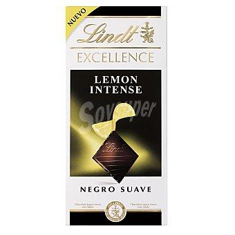 Lindt Chocolate negro (47% cacao) con limón Tableta 100 g