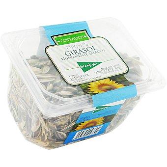 El Corte Inglés Pipones de girasol tostados y ligeramente salados Tarrina 225 g