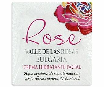 Rose bulgaria Crema hidratante facial 50 Mililitros