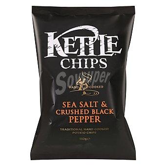 Kettle Patatas fritas con sal y pimienta negra  bolsa 150 g