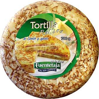 Campifood Tortilla rellena de jamón y queso Envase 700 g
